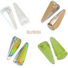 [ Nouveautés ] La nouvelle gamme de Preciosa est arrivée chez Perles & Co ! Venez découvrir les perles en verre Villa ici >>> http://www.perlesandco.com/Verre_Villa-c-2626_40_3241.html