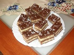 Zebra kocka - sütés nélkül ! - Ez Szuper Tiramisu, Rum, Waffles, Food And Drink, Breakfast, Ethnic Recipes, Foods, Drinks, Hungary