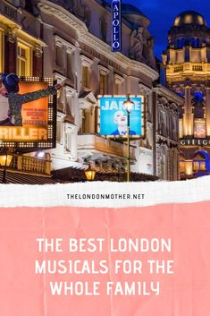 The Best Family Friendly London Shows + Musicals Family Weekend, Family Days Out, Weekend Trips, Musical London, London Theatre, Days Out In Scotland, Great Places, Places To Go, Glinda The Good Witch