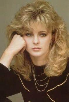 80s style hair