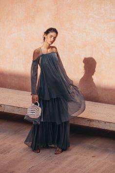 Athena Gown - Ocean