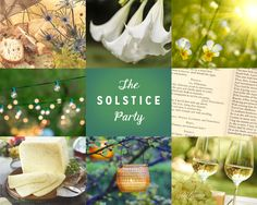 Celebrate the longest day of the year by staging a midsummer night's dream celebration#summer #solstice #party