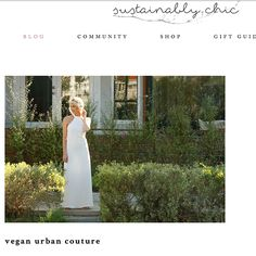 Annaborgia feature on Sustainably Chic