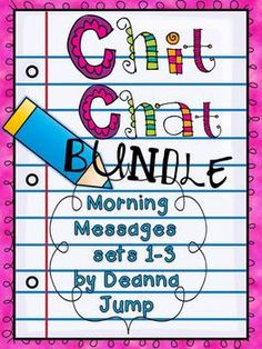 "The original ""Chit Chat Morning Messages"" by Deanna Jump... all BUNDLED together.  300 pages, $"