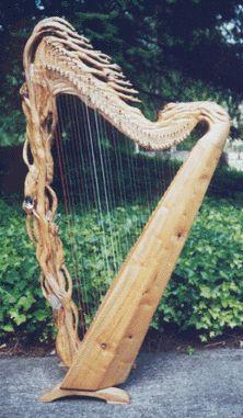 Celtic Harp, Folk Harp, Lever Harp, Irish Harp, Electric Harp