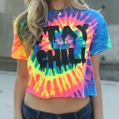 This tie dye T-shirt really takes us back! Stay chill. #90s #tbt #throwback http://ift.tt/2dncuAM