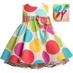 polka dot birthday dress!