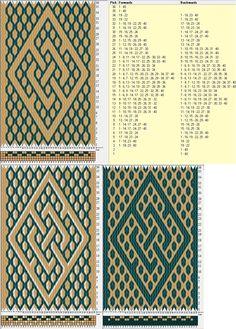40 tarjetas, 2 / 3 colores, completa dibujo en 36 movimientos // sed_771 diseñado en GTT༺❁