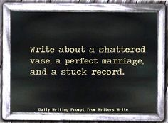 Daily Writing Prompt – Writers Write