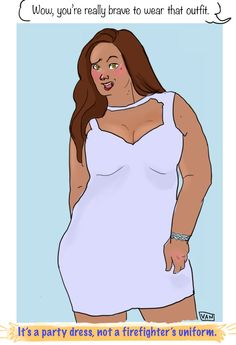 Body shape and size shouldn't keep you from dressing how you want to.