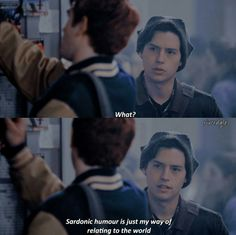 I love this live action version of Jughead, one of favourite Archie comics member. Plus Cole Sprouse has grown up so much!!! #riverdale #jughead