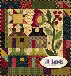 Simple Whatnots Col. 3 - Home Again Quilt Kit