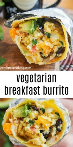 This vegetarian breakfast burrito is quick and easy&; This vegetarian breakfast burrito is quick and easy&; my pano This vegetarian breakfast burrito is quick and easy […] breakfast burrito Healthy Vegetarian Breakfast, Vegetarian Burrito, Vegetarian Dinners, Vegetarian Casserole, Vegetarian Brunch Recipes, Veggie Burrito, Dinner Healthy, Healthy Breakfast Burritos, Recipes Dinner