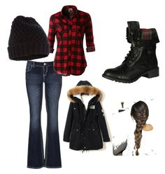 """""""Winter"""" by scottishraven on Polyvore featuring maurices, LE3NO, Soda and Accessorize"""