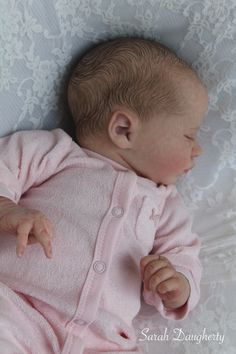 Reborn life like baby doll www.newbornlovenursery.blogspot.com Sarah Daugherty