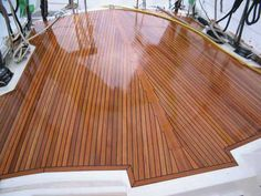 Modern, thin teak decks need lots of regular care, and so it's vital to follow this advice on how to keep them looking good