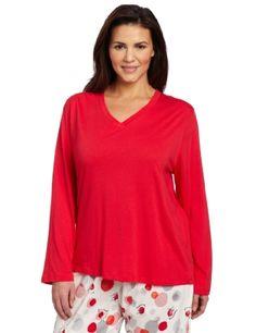 Hue Sleepwear Women's Plus-Size V-Neck Sleep Tee, Red, 2X HUE. $16.00. Sleep tee. Long sleeve. Machine Wash. 60% Cotton/40% Modal. Save 60%! Plus Size Sleepwear, Sleepwear Women, Hue, V Neck, Blouse, Long Sleeve, Clothing, Cotton, Accessories