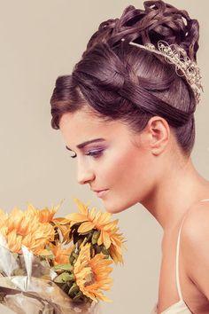 MUA  Marina Villanueva Estilismo  Ernesto Terrón Modelo  Sara Esteban   wedding  bridal  hairdo  hairdressing d9e554057ae