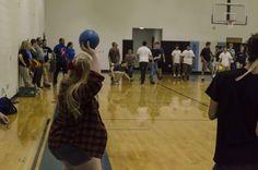 Student vs. Teacher Dodge Ball Game
