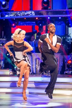 SCD Final 2016. Ore Oduba & Joanne Clifton. Favourite dance Jive. Winners 2016.