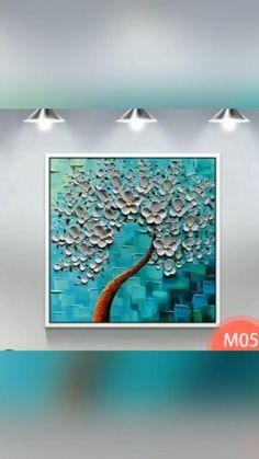 Canvas Painting Tutorials, Canvas Art Paintings, Painting Techniques, Canvas Art Projects, Modern Art Paintings, Nature Paintings, Abstract Paintings, Canvas Artwork, Easy Canvas Art