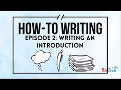 How-To Writing For Kids | Episode 2 | Writing an Introduction - YouTube video