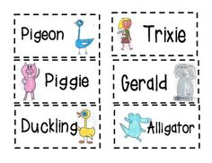 Mo Willems MEGA activity Pack