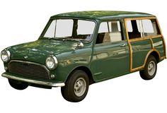 1974 Innocenti Mini Cooper Estate Wagon. I'm sort of in love with this car.