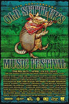 Old Settler's Music Festival.....driftwood, tx 2012
