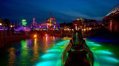 Discoveryland at night