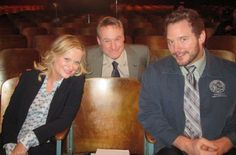 Amy Poehler, me and Chris Pratt back in elementary school together.  Good times...