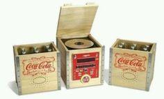 Coca Cola record player...