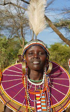 Africa | Pokot woman. Kenya | ©Rita Willaert
