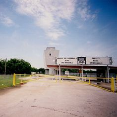 Admiral Twin Drive In Theater, Tulsa, Oklahoma by Cali2Okie (April), via Flickr