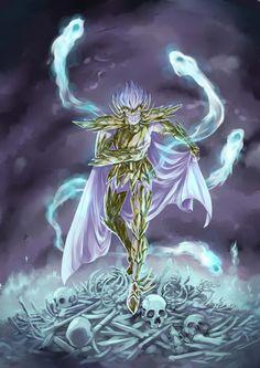 Saint Seiya - Gold Saint Deathmask Cancer