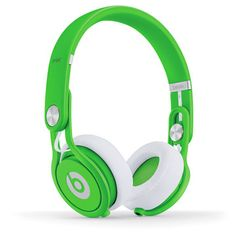 My design inspiration: Beats Mixr Neon Green on Fab.