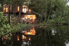 Spa cabin by the lake at Gilpin Lake House, UK | via cntraveller.com