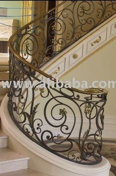 Wrought Iron Ornamental gates, staircase railing, grilles, balconies  Fencing