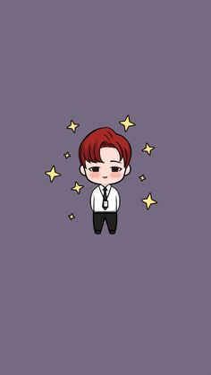 Jimin Chibi Wallpaper, Wallpaper Stickers, Cartoon Boy, Drama Korea, Instagram Highlight Icons, Cute Characters, Cartoon Drawings, Jimin, Anime Art