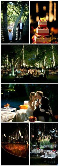 Beautiful outdoor wedding!!
