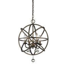 Z-Lite Acadia 4 Light Foyer Pendant & Reviews   Wayfair