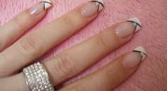 French Manicure Designs Tumblr