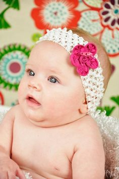 $8 Zipper flower headband for babies  Www.adivasdesign.com