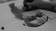 Speed drawing - Rap Monster (BTS)