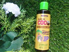 Resenha do Novex Óleo de Coco 100% vegetal, um óleo multiuso, indicado para todos os tipos de cabelo, que pode ser usado de várias formas!
