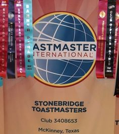 Stonebridge Toastmasters- club 3408653 located in McKinney, Texas U.S.A. Thank you to Manhal Shukayr for the banner picture.
