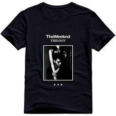 5e0792a0b Hoxsin Men's The Weeknd Trilogy Customized 100% Cotton T Shirt Black US