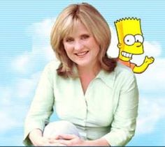 Nancy Cartwright, voice of Bart, is from  Dayton, Ohio