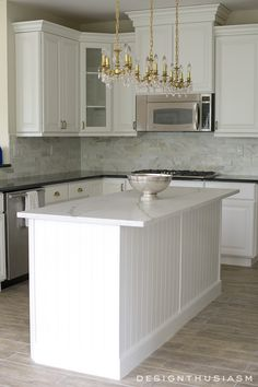 white painted cabinets simplify a kitchen renovation, kitchen cabinets, kitchen design Paint Cabinets White, Painting Kitchen Cabinets, Kitchen Paint, Diy Kitchen, Dark Cabinets, Kitchen Ideas, Kitchen Walls, Kitchen Inspiration, Kitchen Designs
