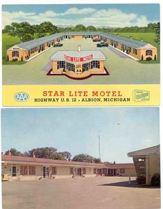 You have to be getting up there in age if you remember this motel.